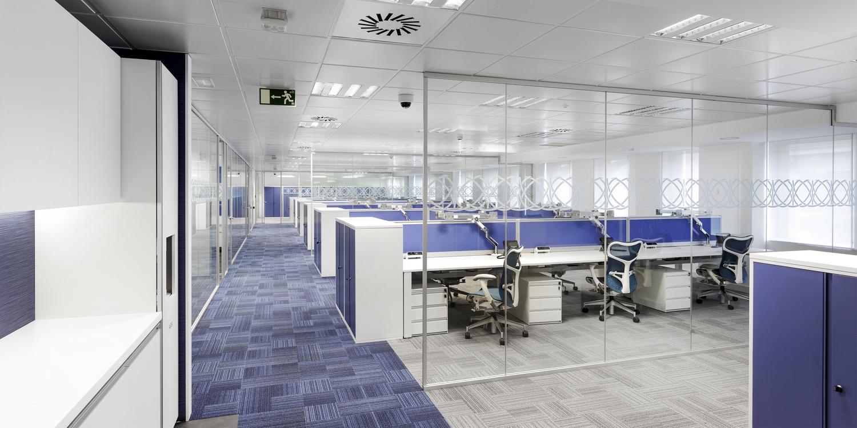 Soluciones integrales en dise o de espacios 3g office for Vodafone oficinas barcelona