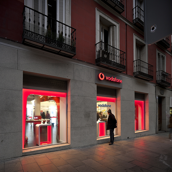 Soluciones integrales en dise o de oficinas 3g office for Oficinas vodafone madrid