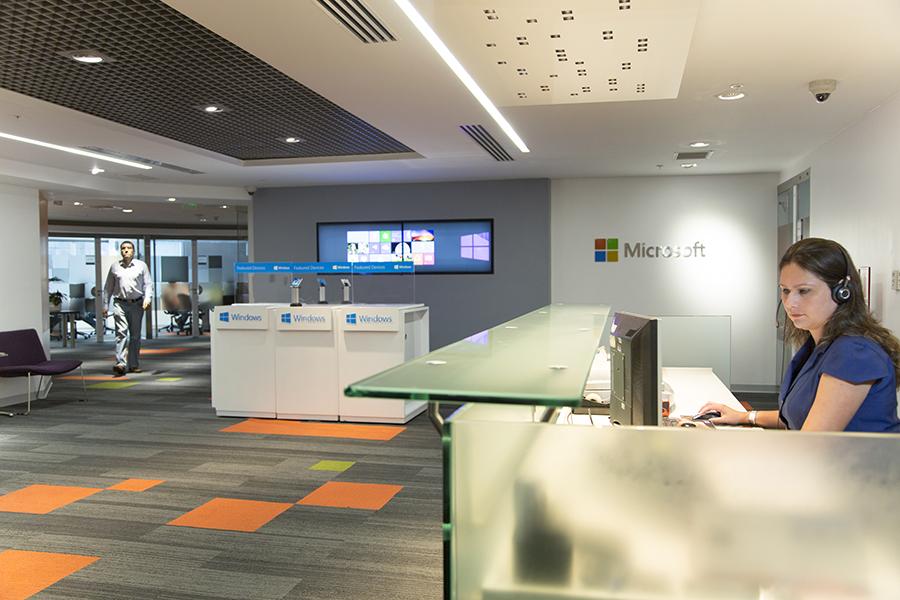 oficinas corporativas de microsoft en lima