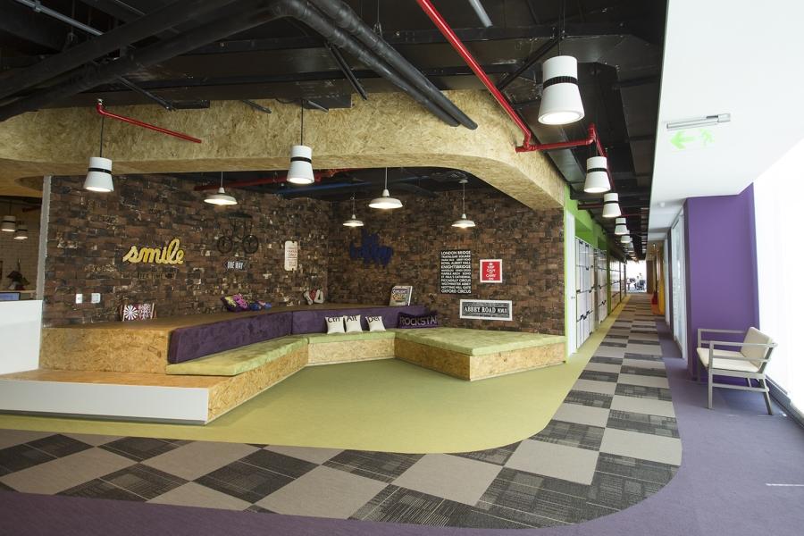 La nueva sede de unilever en lima for Programa diseno oficinas