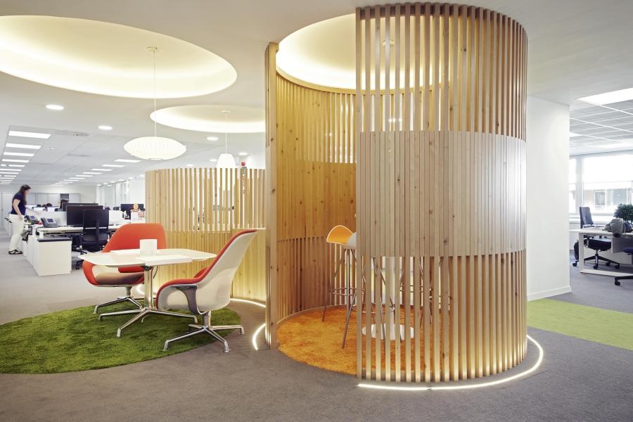Soluciones integrales en dise o de espacios 3g office for Oficinas centrales sanitas madrid