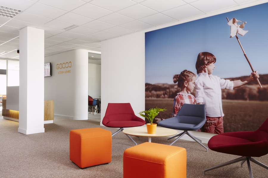 La nueva sede de gocco en madrid for Oficinas de ing en madrid