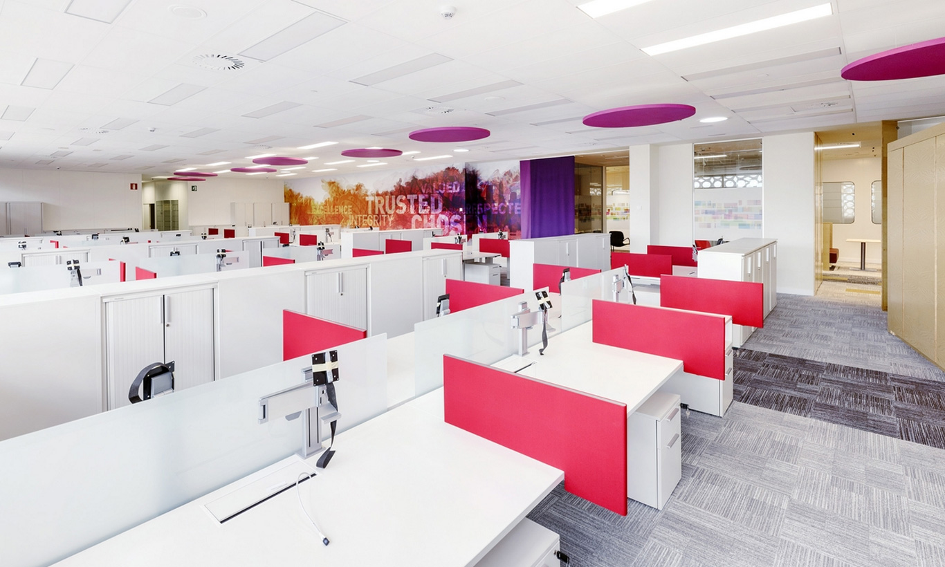 Soluciones integrales en dise o de oficinas 3g office for Oficinas centrales sanitas madrid