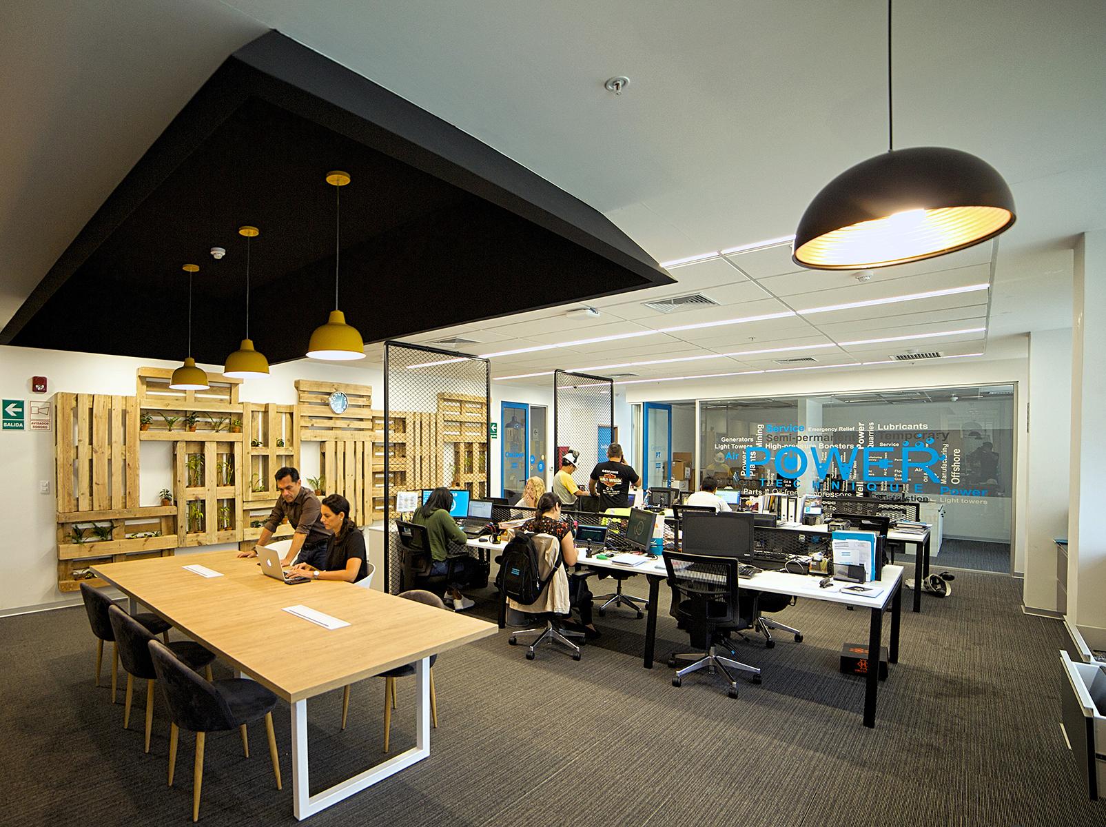 Las oficinas de Atlas Copco en Lima by 3g office