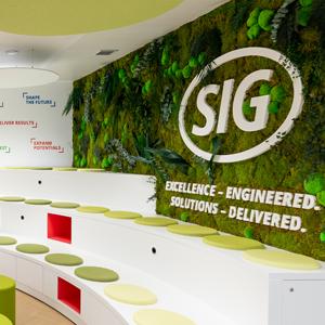Las oficinas de Sig Combibloc en Madrid