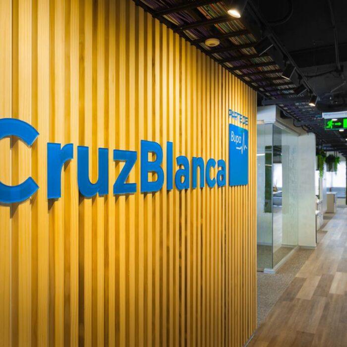 Planta 2 edificio Cruz Blanca Chile